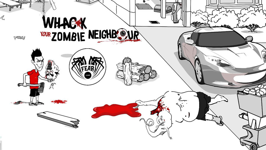 whack your zombie neighbour